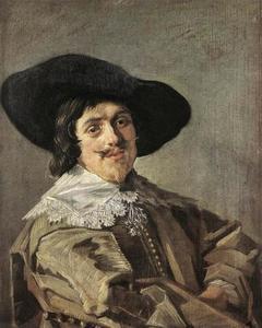 Portret van een man, genaamd een zoon van Jan Hendricksz. Soop (1578-1638)