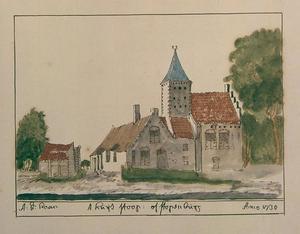 Het huis Stoop of Stopenburg bij Koudekerk aan den Rijn en Hazerswoude-Rijndijk