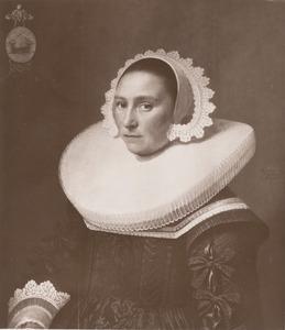 Portret van Johanna Verburgh (1602-1671)