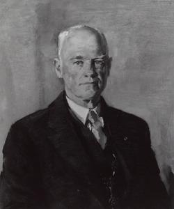 Portret van Wicher Jacob Woldringh van der Hoop (1891-1958)