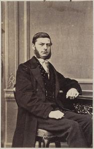 Portret van een man uit familie Paecke