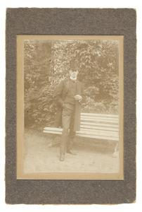 Portret van Willem Frederik Gobius (1881-...)