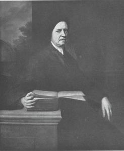 Portret van mennonieten prediker Jacob Denner (1659-1746)