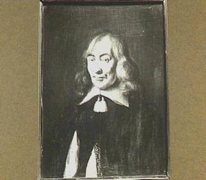 Portret van een man, wellicht voorstellende Claudius Salmasius (1588-1653), filoloog verbonden aan de Rijksuniversiteit te Leiden