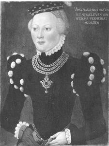 Portret van Ursula Nothafft