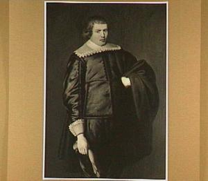 Portret van een man, vermoedelijk Dr. Cornelis Jansz. Westwoud (ca.1619-1643)