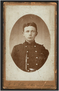 Portret van W.H. Boomgaard