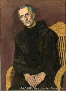 Portret van Jan Verkade (1868-1946)