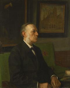 Portret van Mr. S.A. Vening Meinesz (1833-1909)