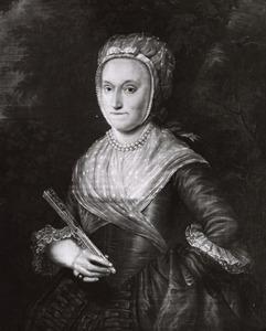 Portret van Woltera Albertina van Neukirchen genaamd Nyvenheim (1741-1809)