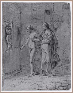 De Waarheid en de Gerechtigheid op zoek naar onderdak (Suenos 1641, boek I, tweede droom)