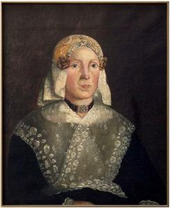 Portret van Atje Jacobs Bink (1798-1846)