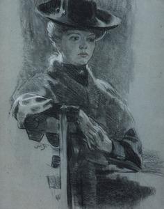 Tilly met hoed