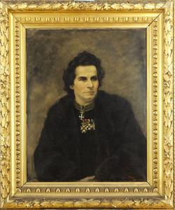 Portret van een man genaamd Joan Bohl (1836-1908)