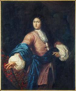 Portret van Hendrik (des H.R. Reichsbaron) Huyssen (1667-1708)