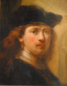 """""""Zelfportret"""" van Rembrandt"""