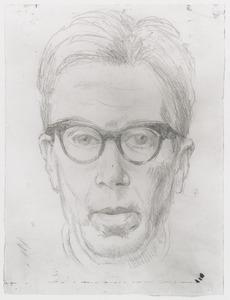 Zelfportret van Dirk Govert (Dick) van Luijn (1896-1981)