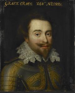 Portret van Johan Ernst I van Nassau-Siegen (1582-1617)