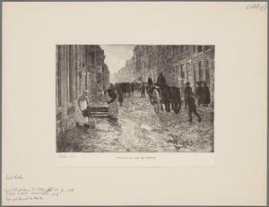 Ochtend in stad