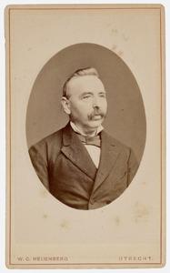 Portret van dhr. N. Zandbeek (1823- )