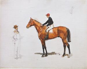 Salvator met zijn eigenaar Baron Lupin