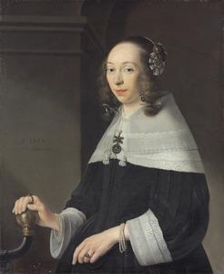 Portret van een vrouw uit de familie Van Bronckhorst
