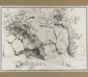 Rotsen in de omgeving van Albano