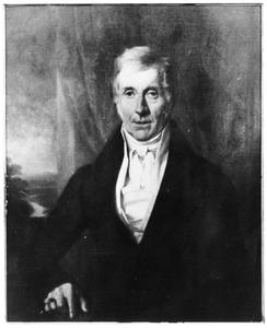 Portret van Jhr. Johan Willem van Vredenburch (1782-1849)