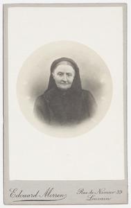 Portret van Marie Hubertine Theodosie Gabrielle Regout (1852-1915)