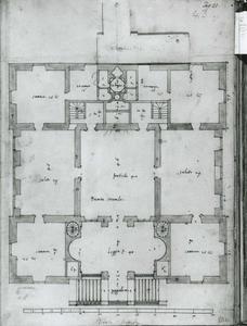 Villa Grimaldi 'Fortezza': Grondplan