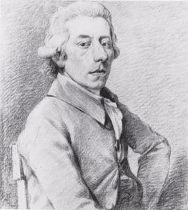 Portret van de kunstenaar Augustijn Claterbos (1750-1828)