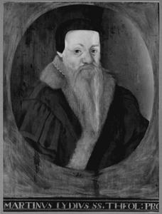 Portret van Martinus Lydius (1539/1540-1601)
