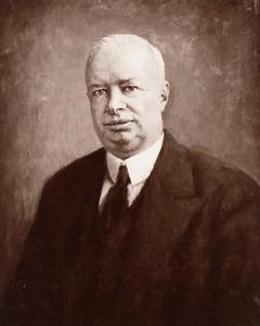 Portret van Hendrik Rudolf Ribbius (1881-1935)
