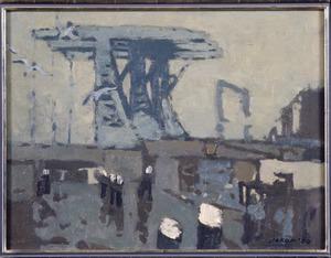 Spoorbrug Haarlemmerplein te Amsterdam
