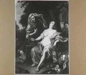 Vertumnus en Pomona (Ovidius, Metamorphosen XIV, 622)