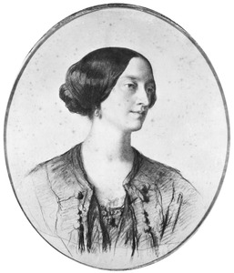 Portret van Wendela Frederica Françoise Fagel (1827-1894)