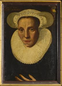 Portret van Maria Jacobsdr. Bam (1561-1613)