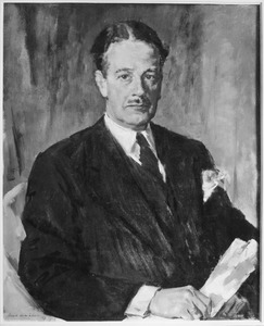 Portret van Willem Frederik van Lennep (1894-1950)