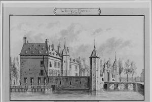 Linker- en voorzijde van Voorn bij Utrecht