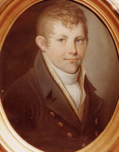 Portret van Alard Hendrik Wijnand Willem Hacfort (1800-1817)