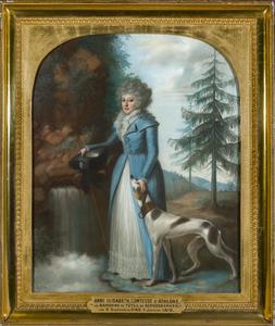 Portret van Anna Elisabeth Christina van Tuyll van Serooskerken (1745-1819)