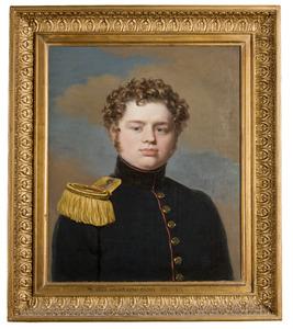 Portret van Unico Wilhelm Elisa Cazius (1799-1876)