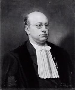 Portret van Johannes Marinus Simon Baljon (1861-1908)