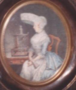 Portret van Grietje Hajonides (1761-1805)