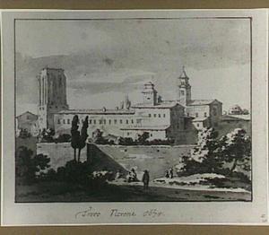 Rome, links de Torre delle Milizie