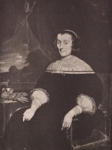 Portret van een vrouw, waarschijnlijk  Adriana Spiegel (1616-1685)