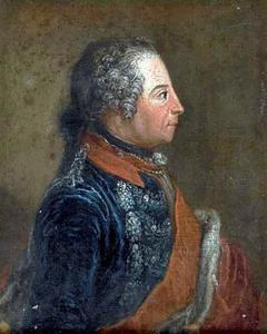 Portret van Friedrich II 'de Grote' van Pruisen (1712-1786)