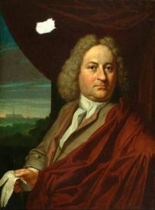 Portret van Mattheus Kuyts (1686-1740)