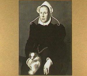 Portret van Thecla genaamd Tietje Pompeiusdr. Occo (?-1573)