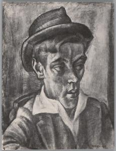 Jongeman met hoed
